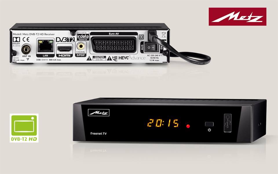 Jetzt geht's los: Umstellung auf DVB T2 HD | Der Metz Blog