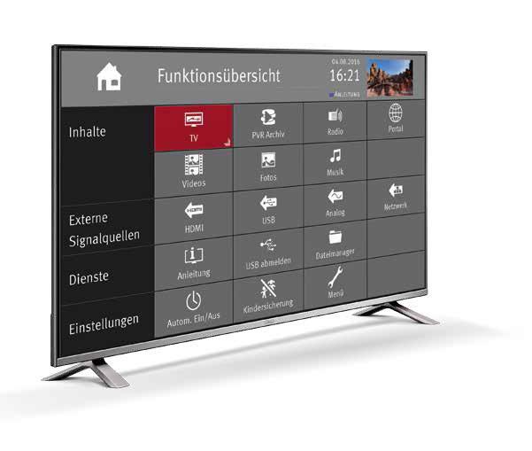 Funktionen Metz TV