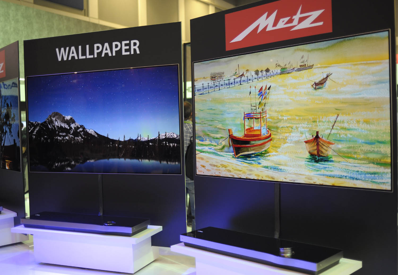Metz Wallpaper OLED TV IFA 2017