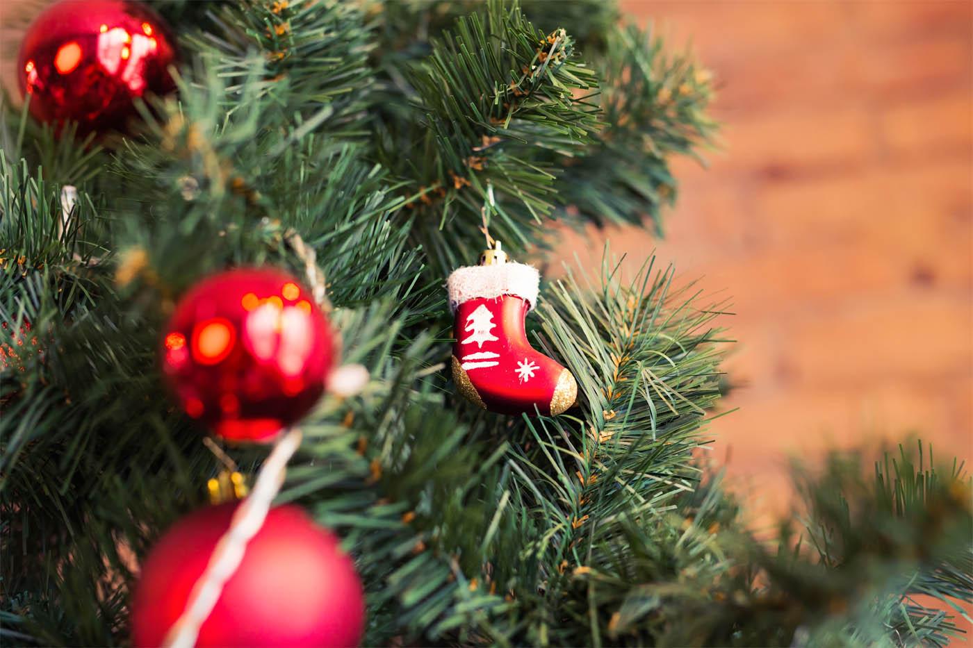 schenken an Weihnachten