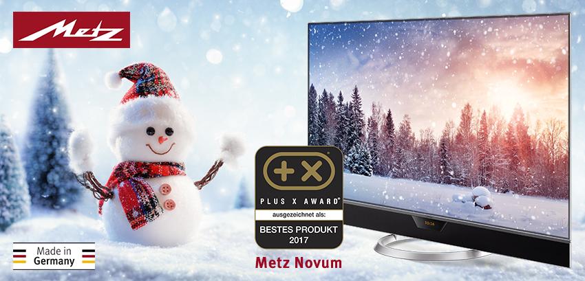Unser Bester - Metz Novum OLED TV vielfach ausgezeichnet