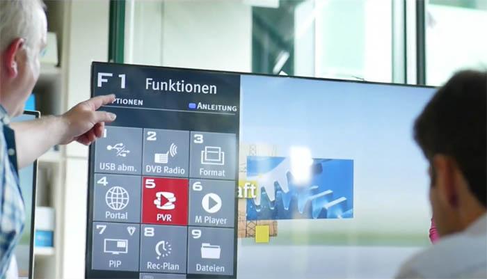 Funktionstasten Metz TV Fernbedienung