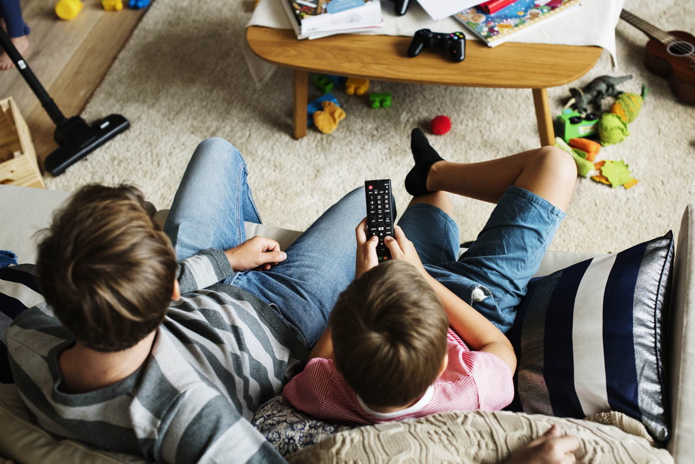 Fernsehen mit Familie