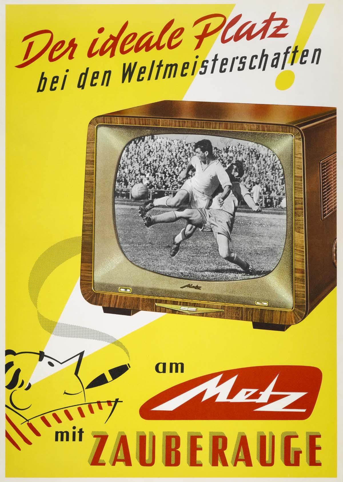 Metz TV mit Zauberauge zur automatischen Anpassung der Helligkeit