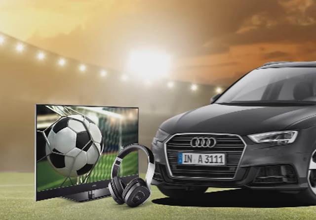 WM-Aktion - Mit Metz Audi A3 Sportback gewinnen
