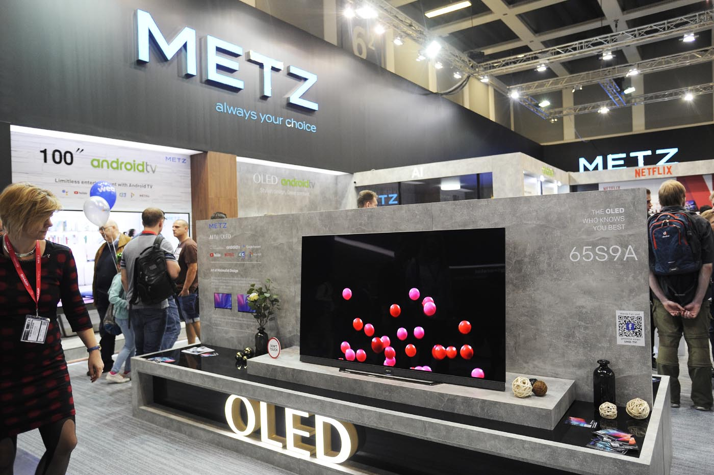 METZ blue S9A OLED-4K TV