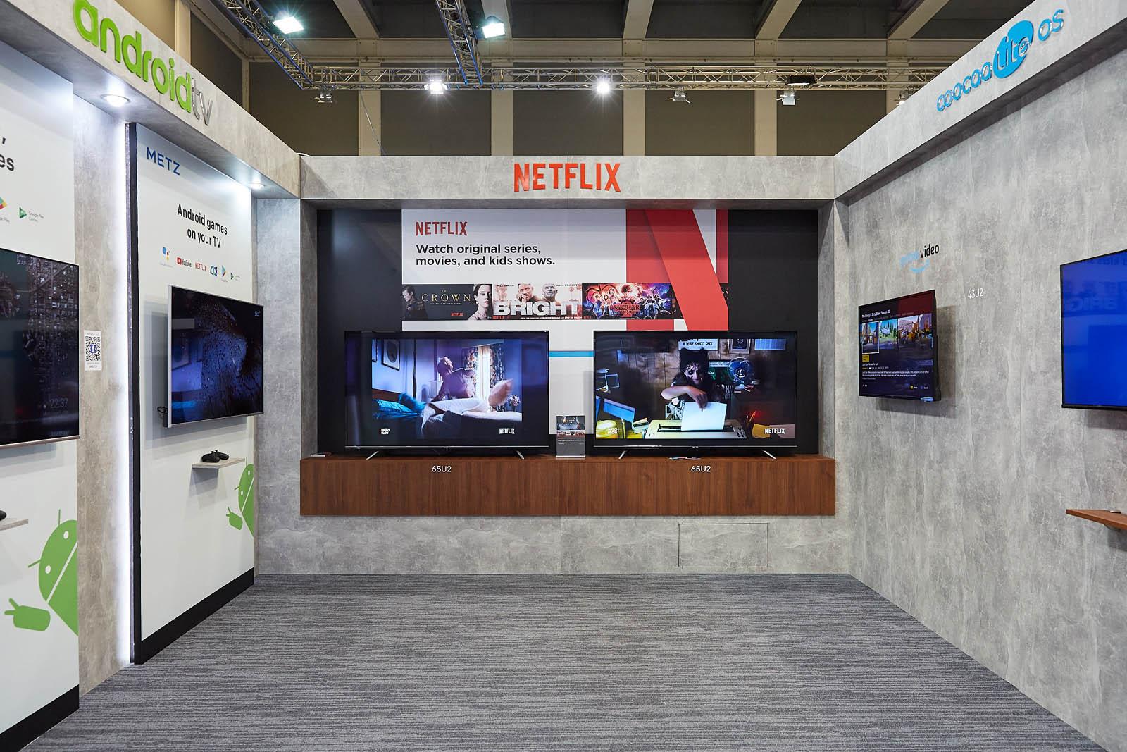 Metz TV Android mit Gaming und Netflix