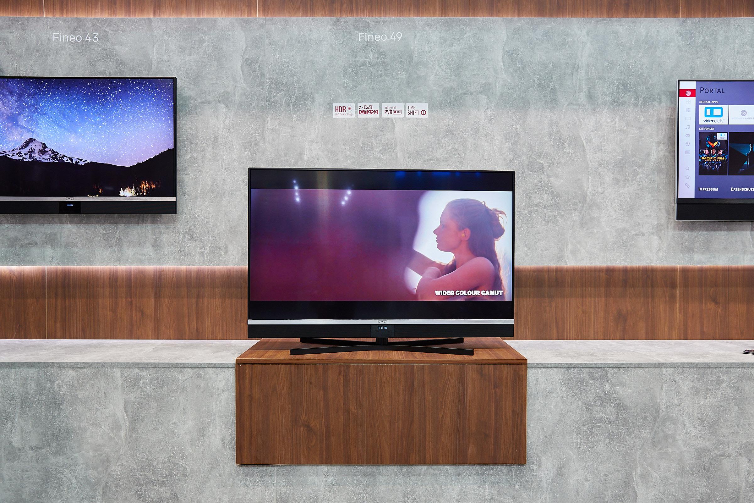 Metz Fineo UHD TV 43 und 49 Zoll