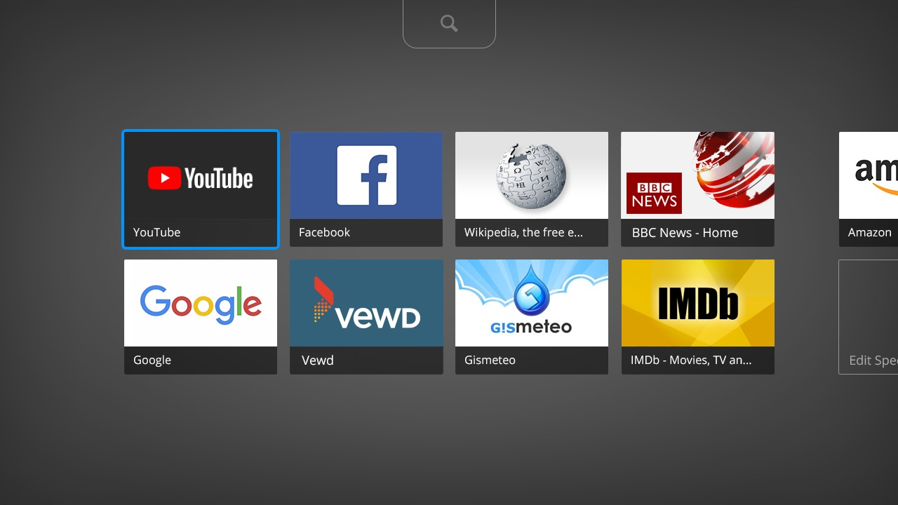 Vews Smart TV Browser