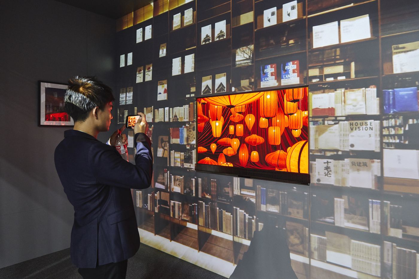 Metz Invision Transparent OLED TV IFA 2019