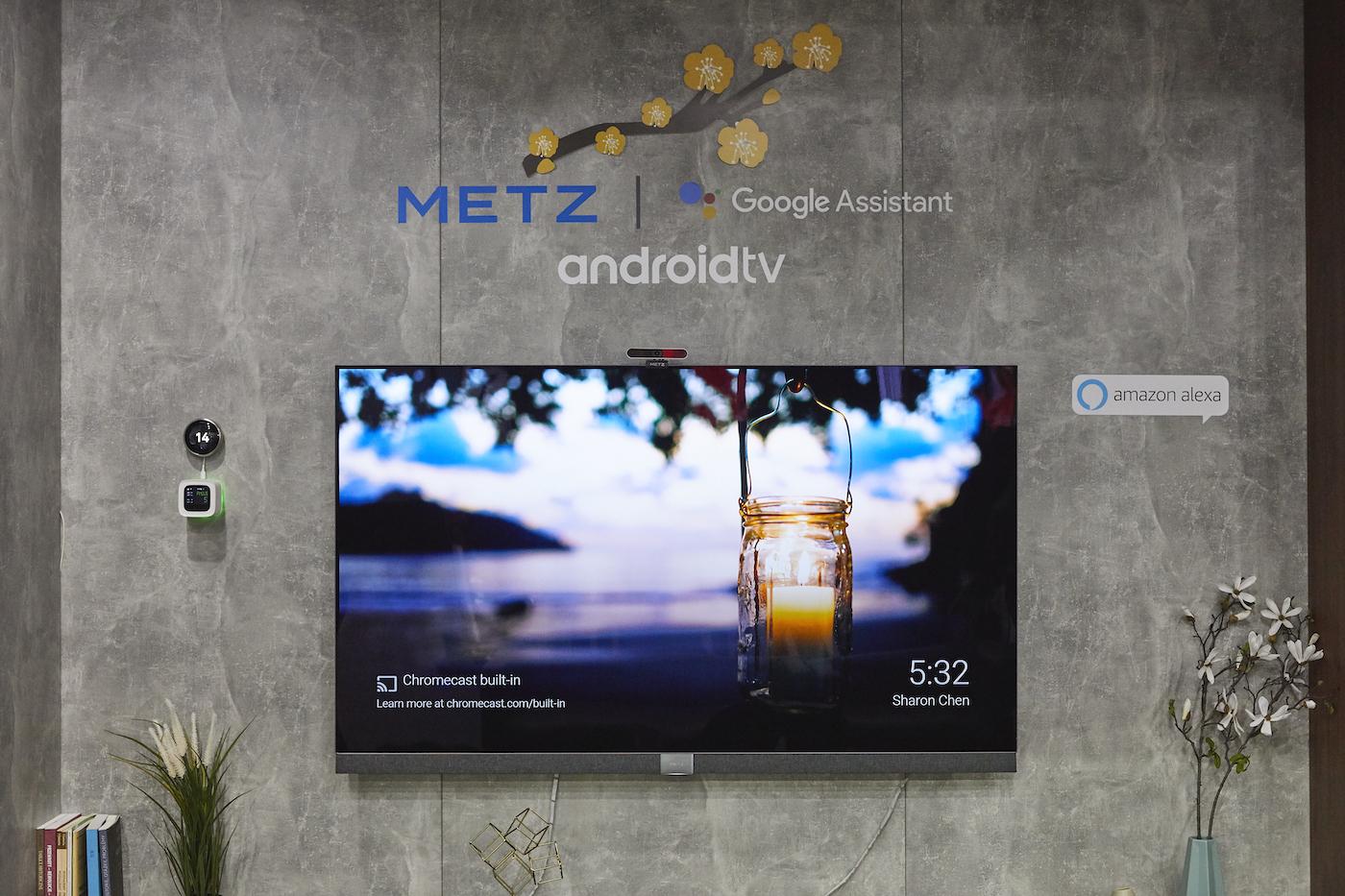 METZ blue Android TV auf der IFA 2019