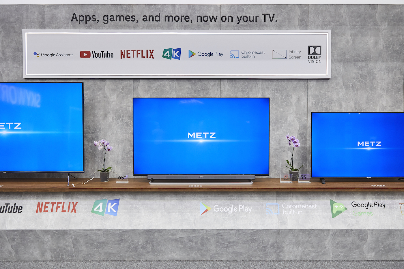 METZ blue Smart TV Android