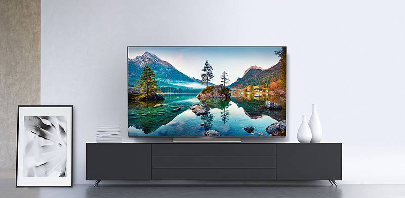 neuer OLED Fernseher - METZ blue OLED TV MOC9001