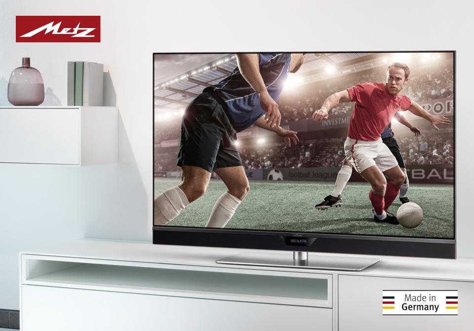Metz UHD TV Alegra - Fußball EM in 4K