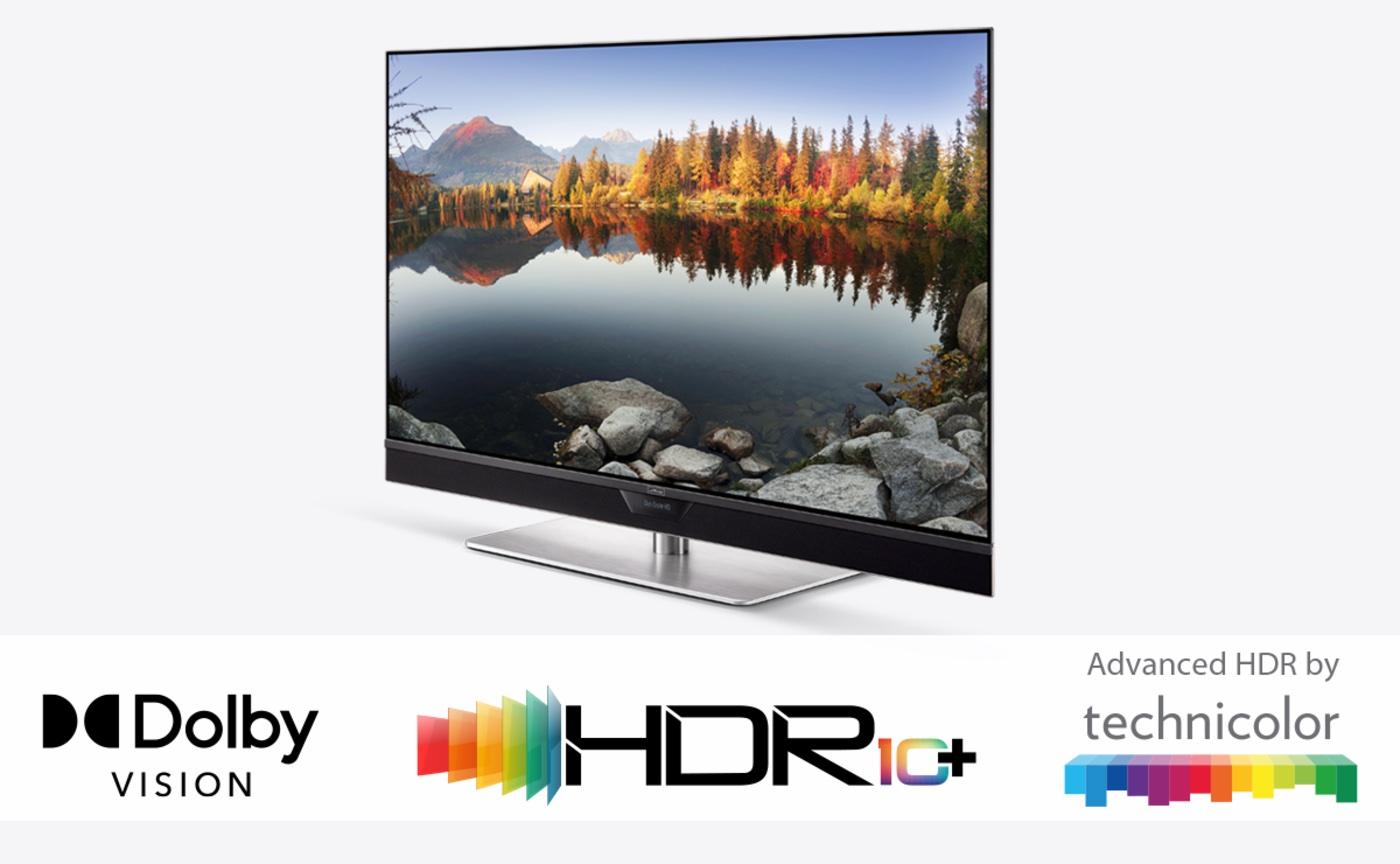 Fernseher Metz TV UHD HDR Formate